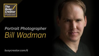 Portrait Photographer Bill Wadman Talks Conceptual Imagery, Retouching, Backup Strategies, and Being a Creative Geek