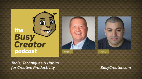 The Busy Creator 9 w/guest Bob Stanke