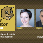 The Busy Creator 10 w/guest Erica Heinz