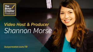 Video Host & Producer Shannon Morse Discusses Challenges, Workflows in Producing Multiple Shows