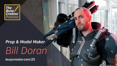 Turning Your Garage Into an Intergalactic Weapons Factory, with Prop & Model Maker Bill Doran