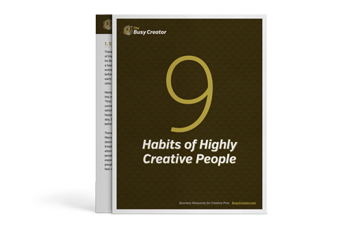 9 Habits of Highly Creative People image