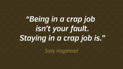 Words of Wisdom: Sally Hogshead On Jobs