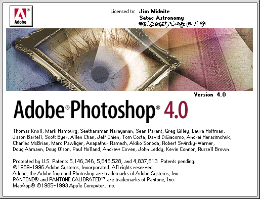 Adobe Photoshop 4.0