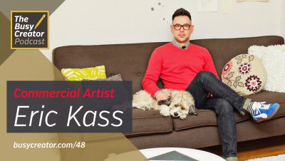 Crafting a Solo Design Practice and Pulling Cultural References with Commercial Artist Eric Kass
