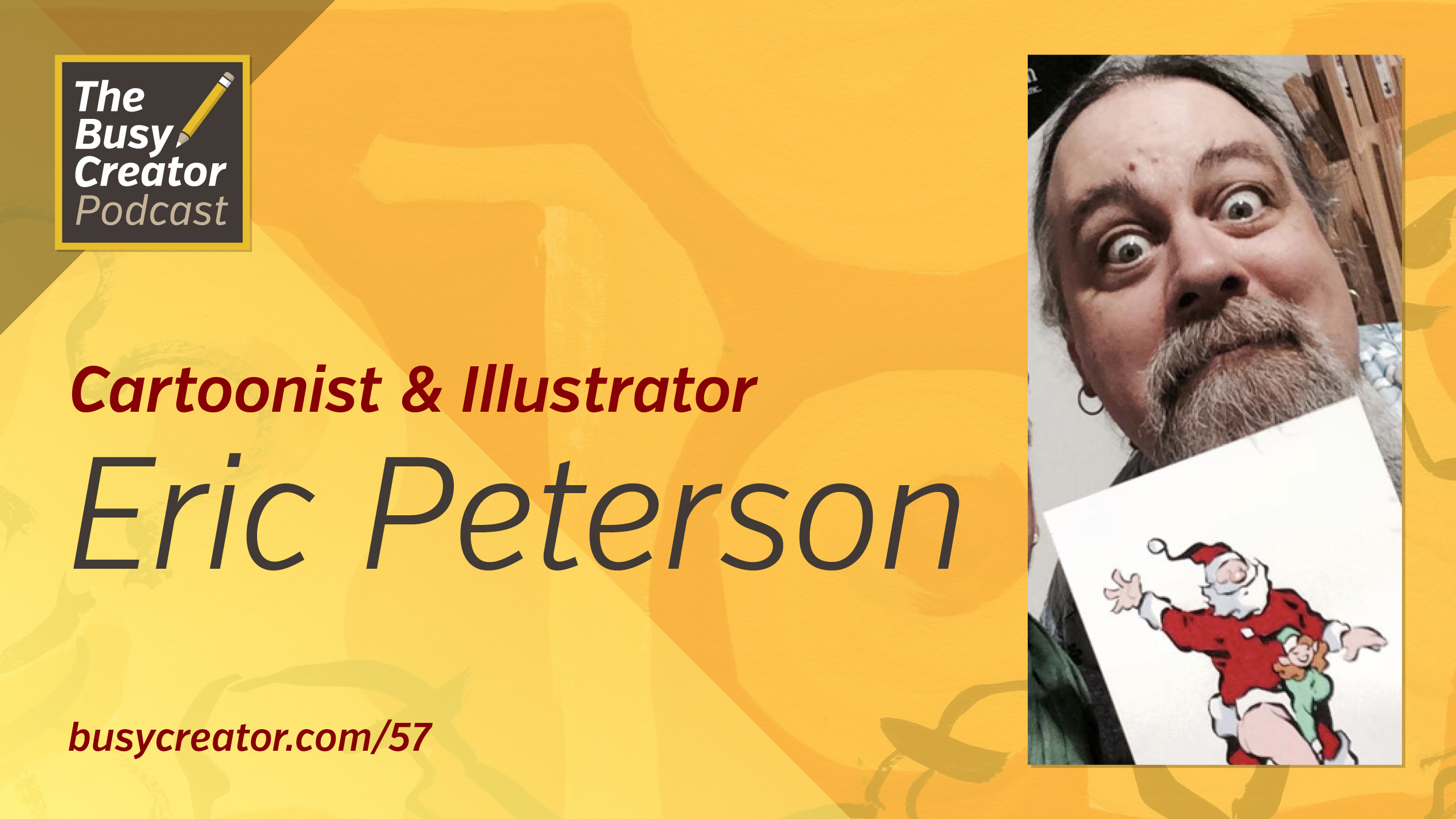 Cartoonist & Artist Eric Peterson Talks Studio Habits and How We Works