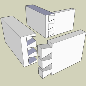 Half-Blind Dovetail Joint