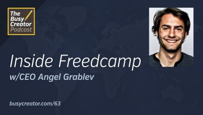 Freedcamp CEO/Co-Founder Angel Grablev Shares Origins & Methods for Project Management