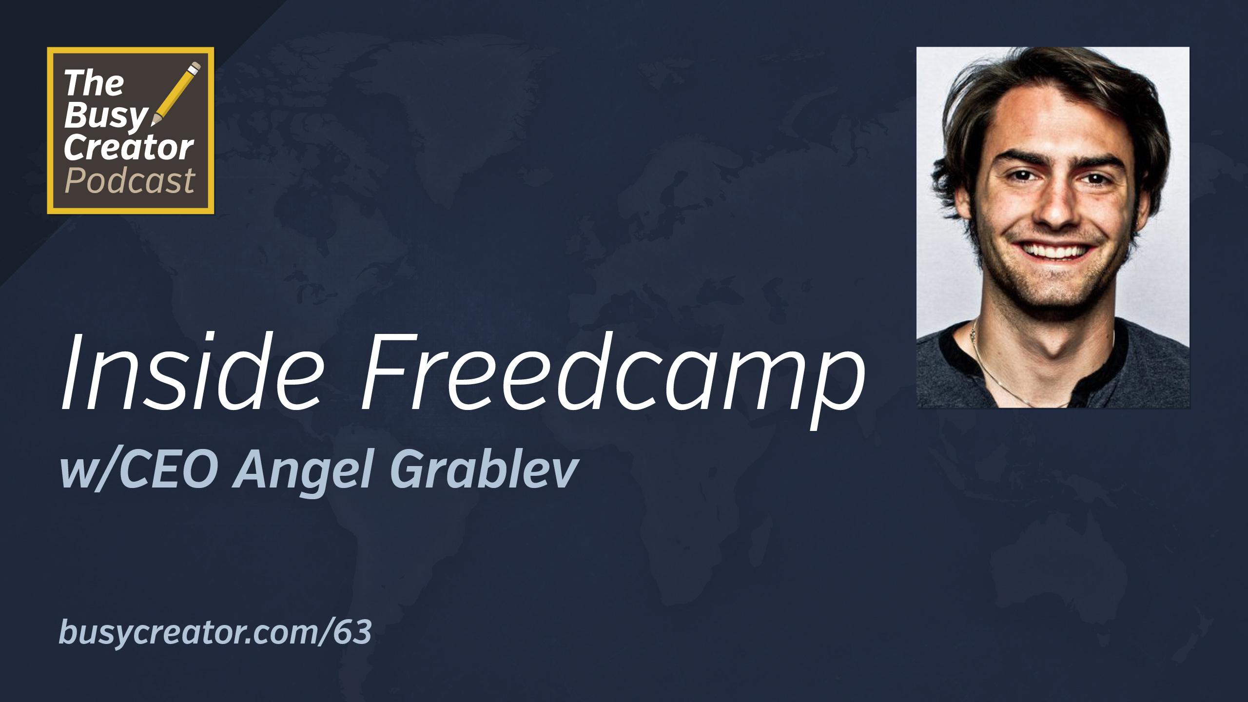 Freedcamp CEO/Co-Founder Angel Grablev Shares Origins & Methods for Project Management