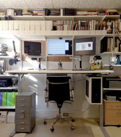 Prescott's workstation