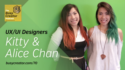 The Busy Creator 70 w/Kitty & Alice Chan