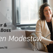 The Busy Creator 75 w/guest Kirsten Modestow