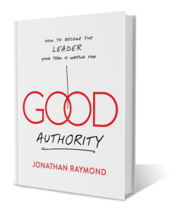 Good Authority, by Jonathan Raymond book