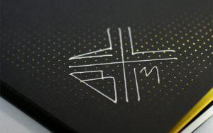 BNConf 2013 identity, featuring hand-stitching