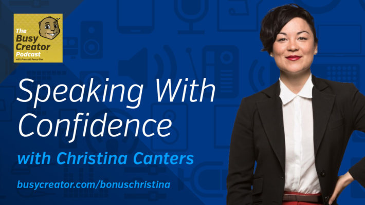 The Busy Creator 78B w/Christina Canters