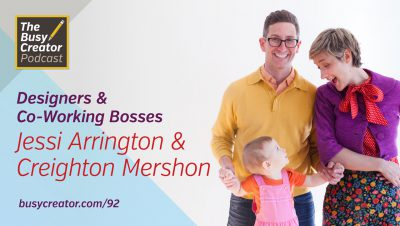 Balancing a Design Practice and Co-Working Space in NYC, with Jessi Arrington & Creighton Mershon