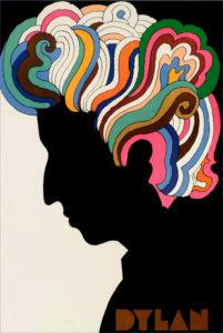 Bob Dylan by Milton Glaser poster